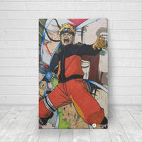 Rasengan fan art canvas