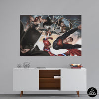 comics wal art decor