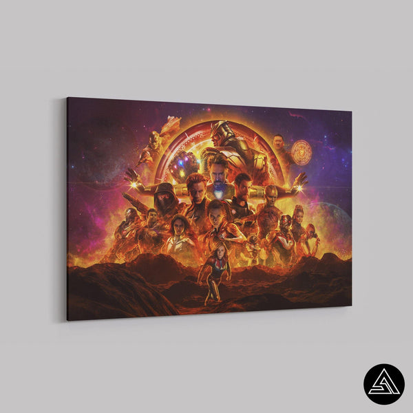 the endgame 3d fan art canvas