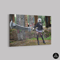 cosplay art automata wall art decor