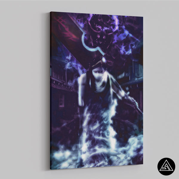 zabuza demon canvas