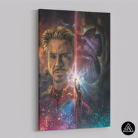 tony stark endgame poster fan art