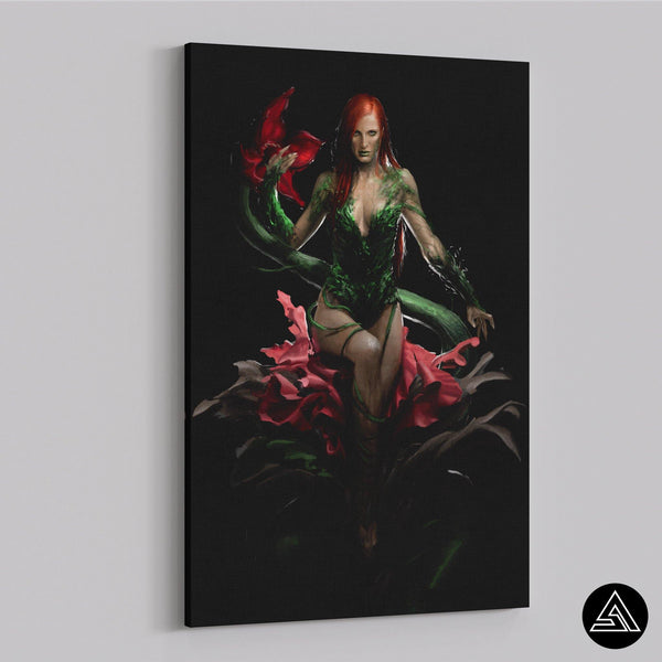 poison ivy fan art canvas