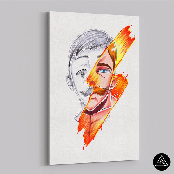 Escanor Signature - Canvas