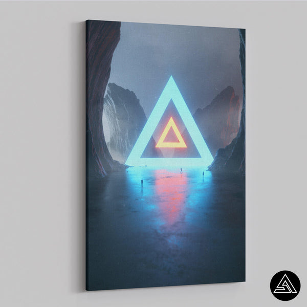 The Pyramid of Life - Canvas
