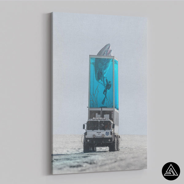 Shark Tank - Canvas - Sidekick ART