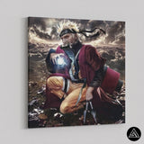 Naruto Sage Mode Canvas wall art