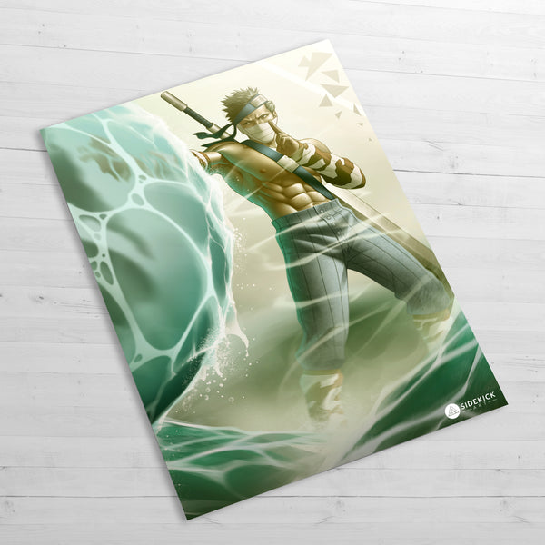 Zabuza artwork poster