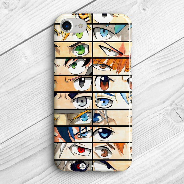 Anime Eyes 2 - Phone Case