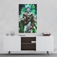 Wall art broly dragon ball