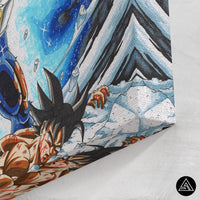 dbz high quality canvas print