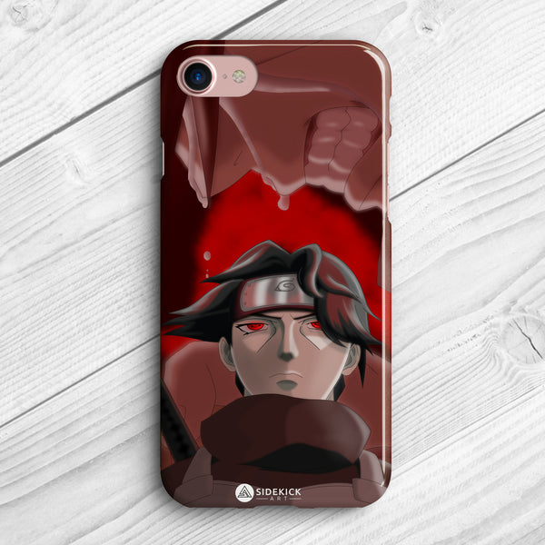 itachi uchiha iphone protector case