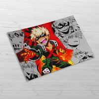 Bakugo Collage - Huge Poster