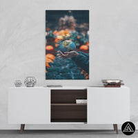 World in your Hands - Canvas - Sidekick ART