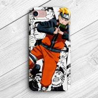 naruto manga collage phone case