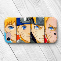 naruto evolution collage phone case