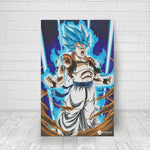 Super Saiyan Blue - Canvas