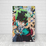 MHA collage - Canvas