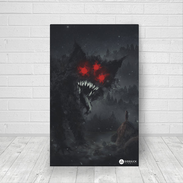 Nightmare Cat - Canvas