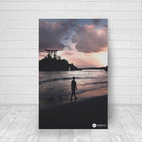 night shrine canvas