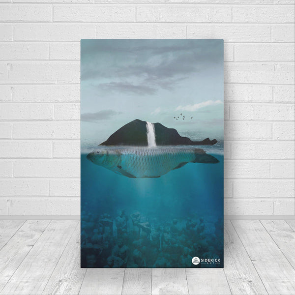Lost Island - Canvas