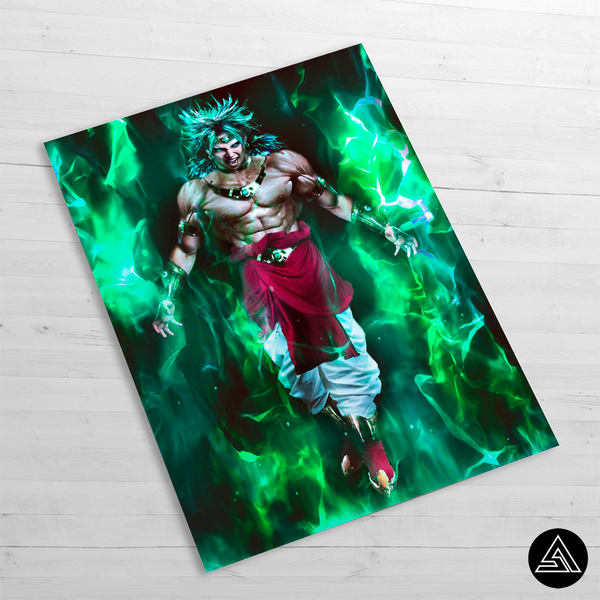 broly the legend poster