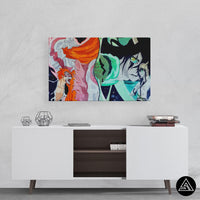 bleach wall art