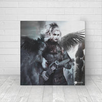 Angel Warrior - Canvas