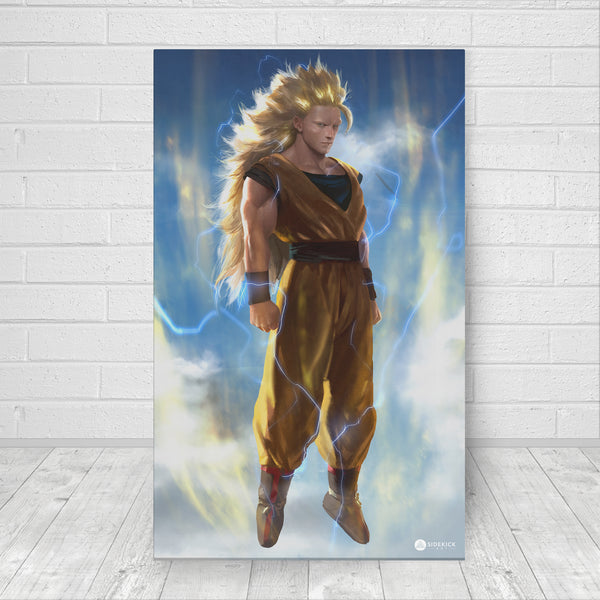 Goku Super Saiyan 3 - Canvas