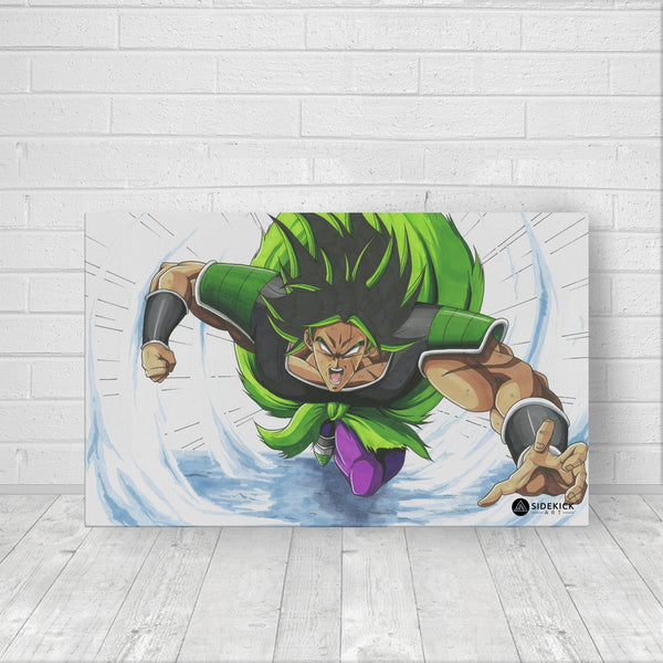 Broly attack Canvas