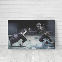 Kakashi vs Obito - Canvas