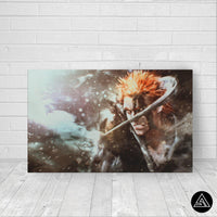 bleach canvas