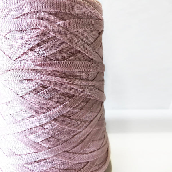 Chunky Cotton Tape Yarn : Pink