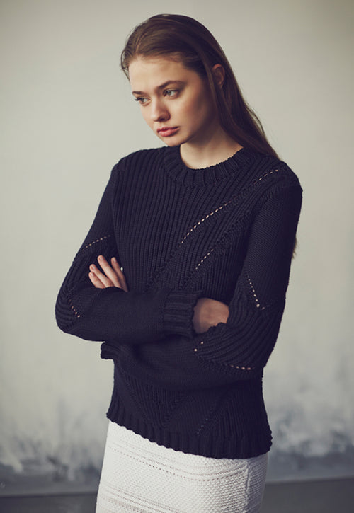 Engineered Rib Jumper