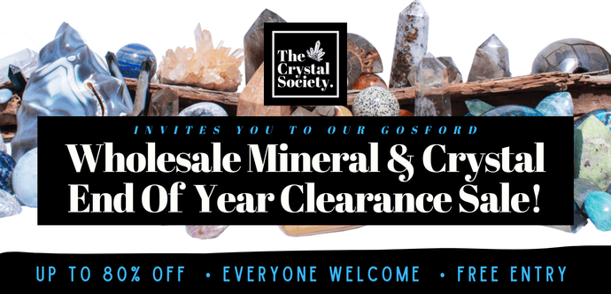 Gosford NSW WHOLESALE Mineral & Crystal END OF YEAR CLEARANCE SALE.