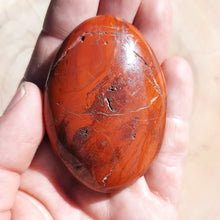Load image into Gallery viewer, Red Jasper Palm Stones