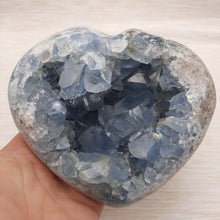 Load image into Gallery viewer, Celestite Heart ~ Extra Large