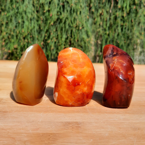 Red Carnelian Mini Flames