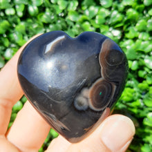 Load image into Gallery viewer, Solomon Agate Gemstone Hearts ~ Small