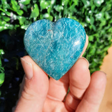 Load image into Gallery viewer, Amazonite Hearts - The Crystal Society Pty Ltd