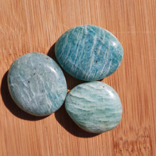 Load image into Gallery viewer, Amazonite Tumbles - The Crystal Society Pty Ltd