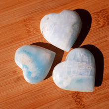 Load image into Gallery viewer, Caribbean Blue Hearts ~ Mini