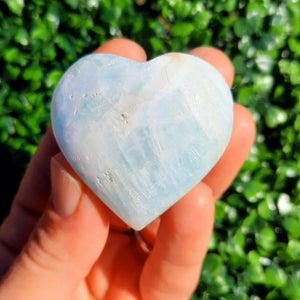 Caribbean Blue Hearts ~ Mini