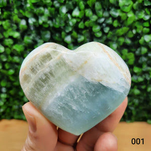 Caribbean Blue Hearts ~ Puffy
