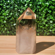 Load image into Gallery viewer, A-Grade Smokey Quartz Tower ~ Medium With Rainbows