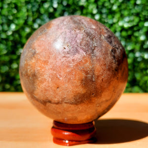 Cobalto Calcite Crystal Sphere