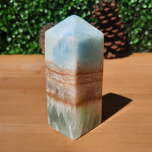 Load image into Gallery viewer, Caribbean Blue Obelisk ~ Large