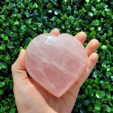 Load image into Gallery viewer, Rose Quartz Heart ~ Puffy