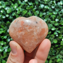 Load image into Gallery viewer, Sunstone Hearts ~ 45mm