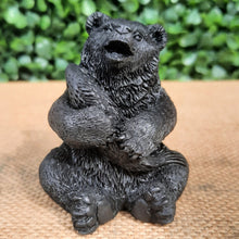 Load image into Gallery viewer, Shungite Bear With Salmon